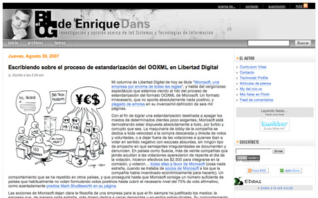 Blog Corporativo - Enrique Dans - Instituto de Empresa