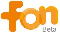 Logo de FON, beta